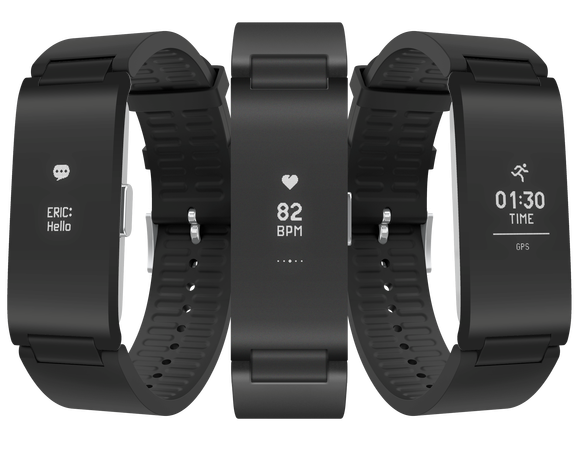 PAUL SAWERS Above: Withings Pulse HR NOW PLAYING Fitbit Charge 3 Vs