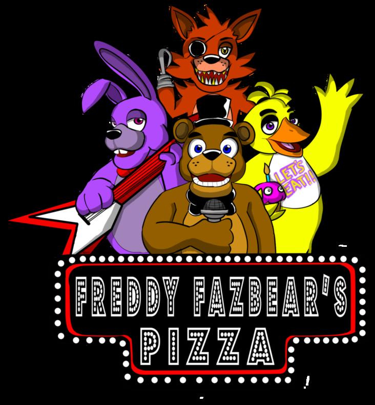 Freddy Fazbear S Pizza East And West Cybersland Logofanonpedia Fandom Freddy Fazbear Freddy Plush Freddy