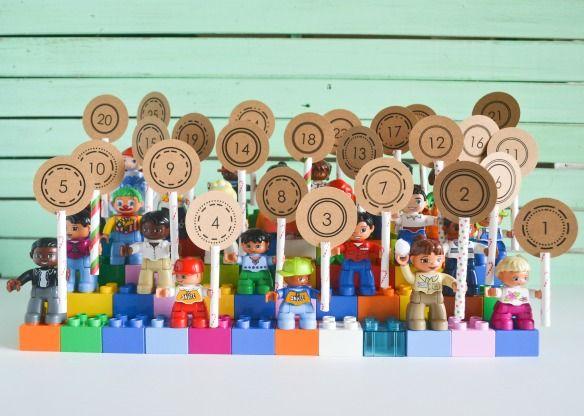 Lego Duplo Advent Calendar