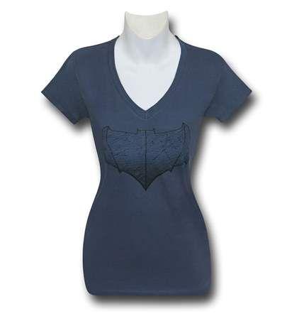 Batman Vs Superman Batman Symbol Womens V Neck T Shirt Batman Vs