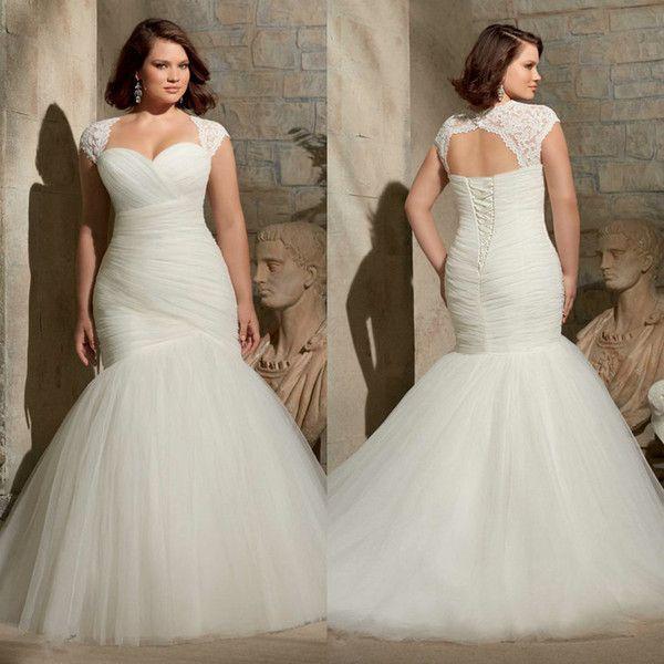 Mermaid Wedding Dresses 2015 Plus Size Style