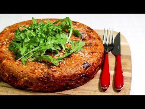Youtube Esslust Spaghettikuchen Mit Aubergine Food Pinterest