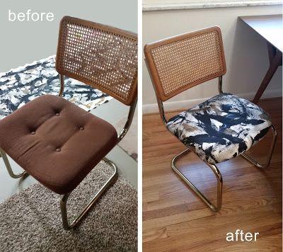 Marcel Breuer Cesca Chair Makeover Mcm Cain Chair Chair Makeover Cesca Chair Breuer Cesca Chair