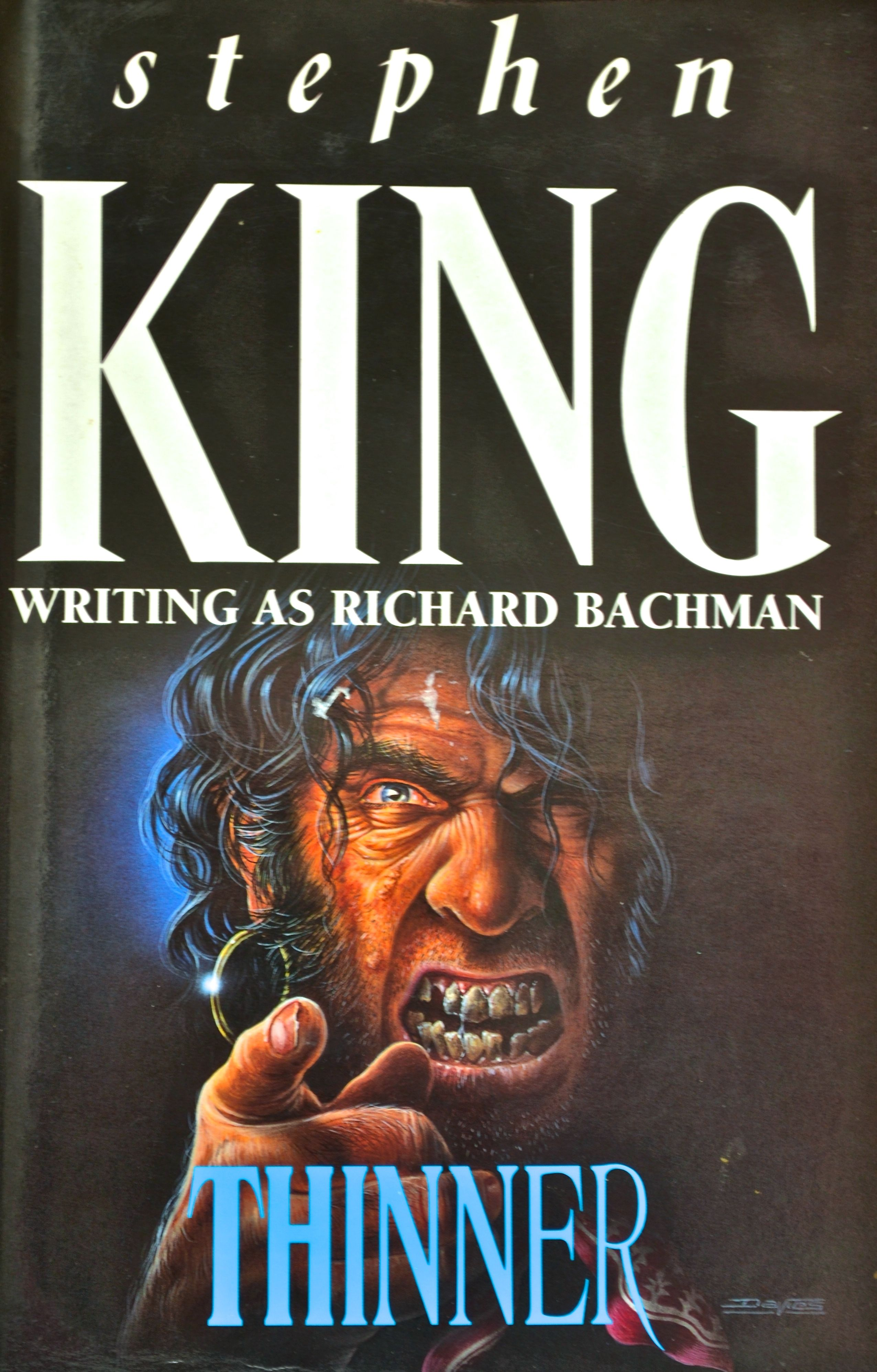 Stephen King Writing As Richard Bachman Thinner With Images