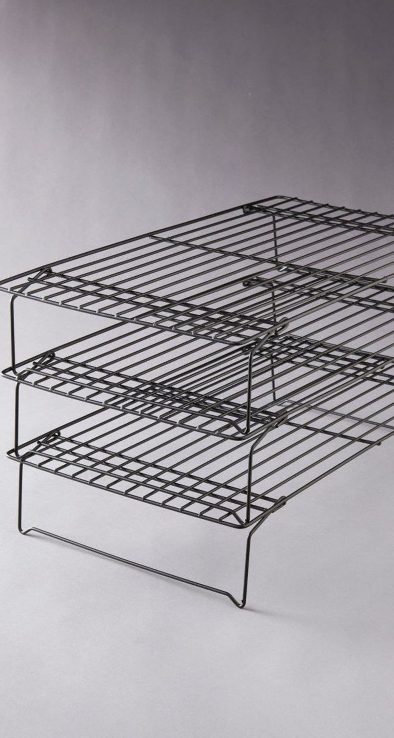 This Set Of Three Stacking Cooling Racks Is A Must Have For Any