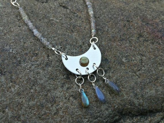 Check out this item in my Etsy shop https://www.etsy.com/listing/254062491/sterling-silver-and-labradorite-triple