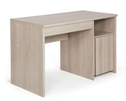 Bureau junior à tioir naturela meubles prix promo alinea