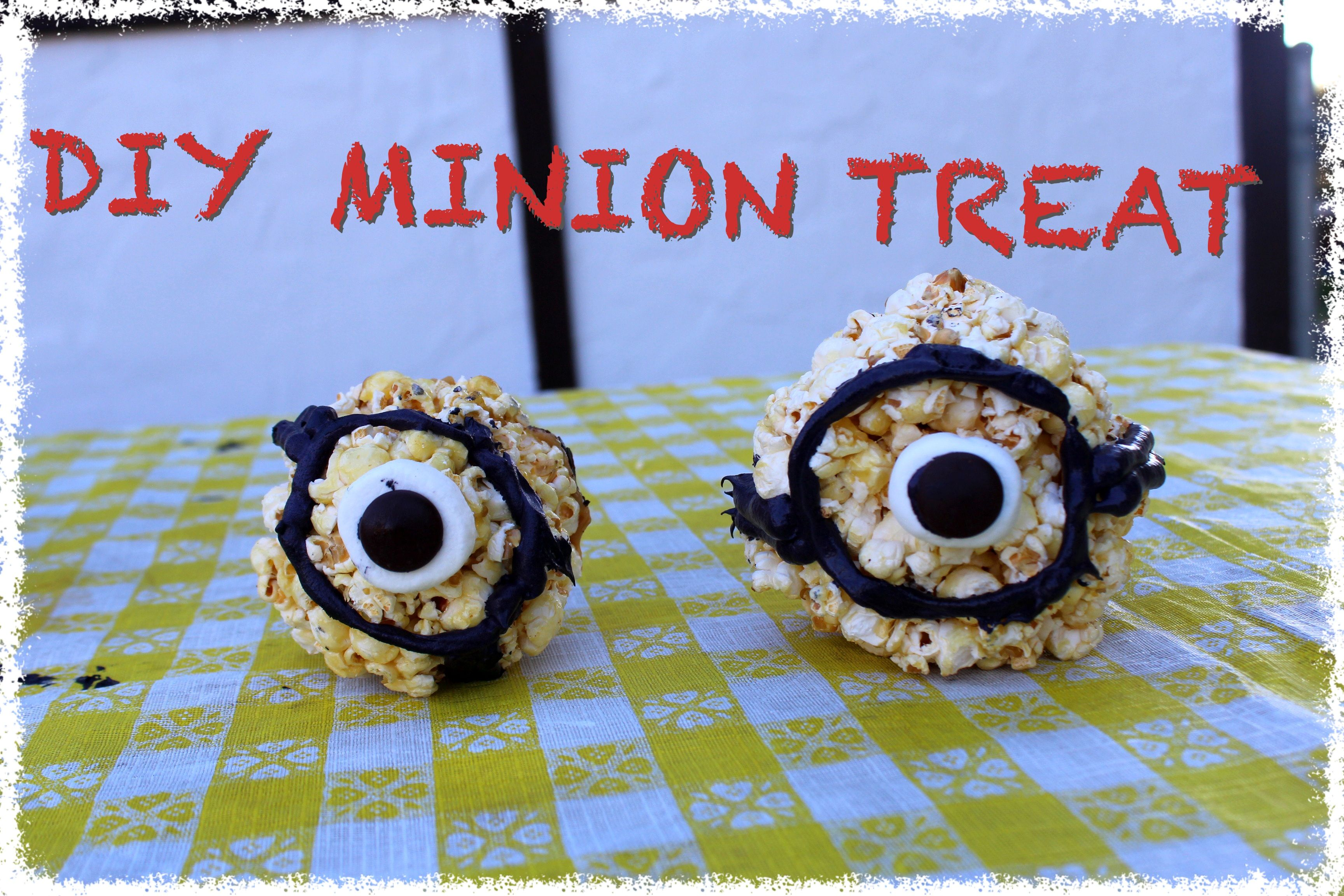 Fun Snack idea for your kids who love minions or love diy minion projects