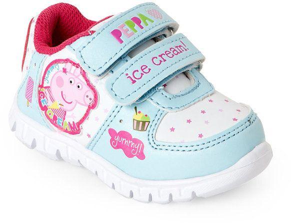 timeless design 24b19 e9872 Peppa Pig Toddler Girls) Ice Cream Time Light-Up Sneakers
