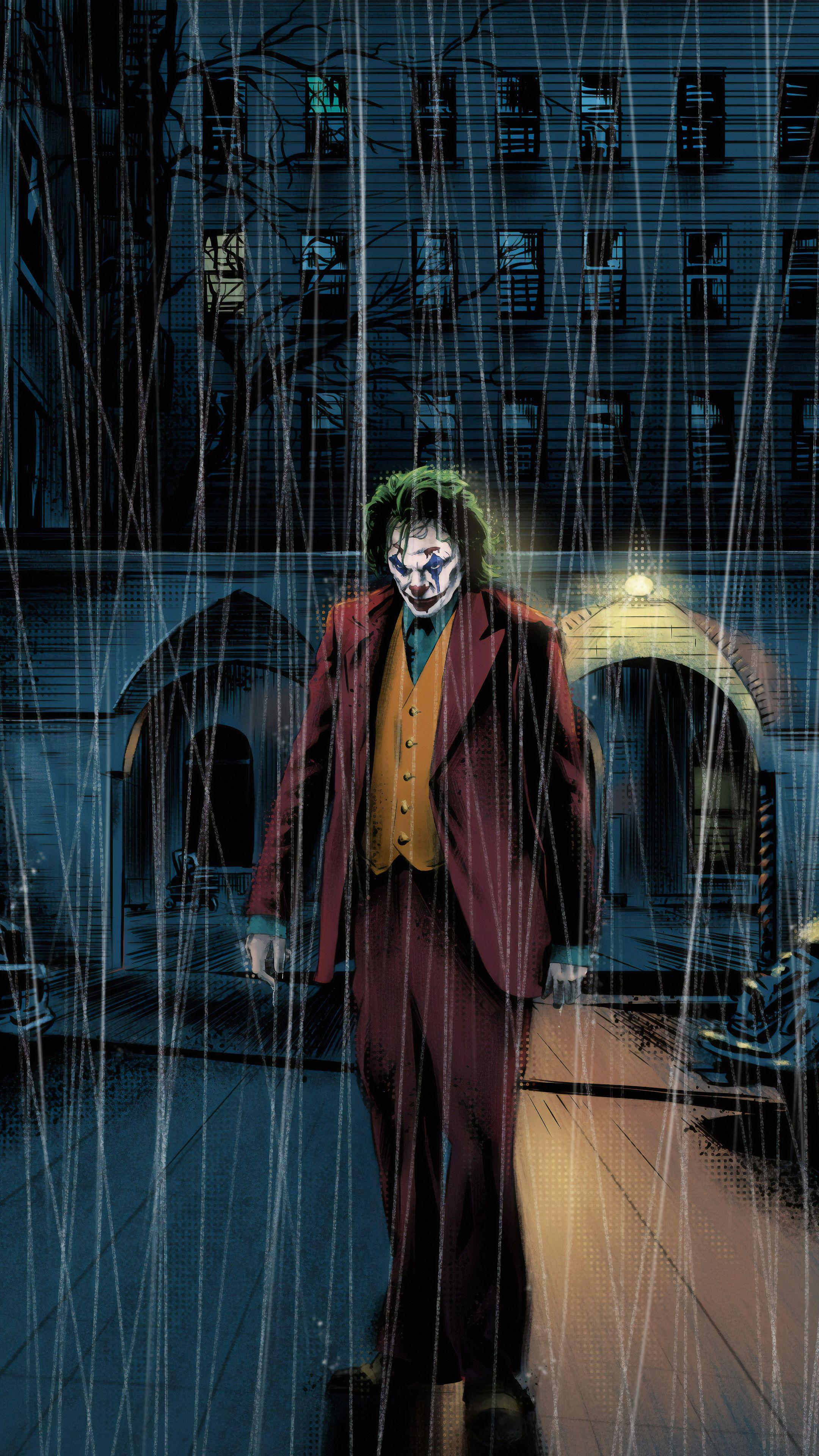 Joker 4k Newart In 2160x3840 Resolution Joker Hd Wallpaper Joker Iphone Wallpaper Joker Wallpapers