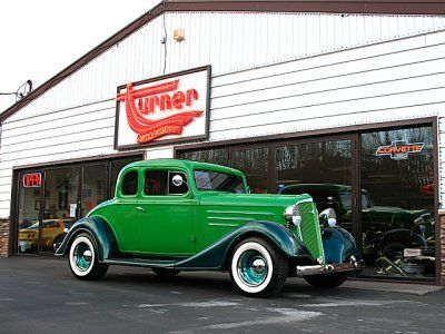 ✿1934 Chevy 5-Window Master Coupe✿ | Chevy