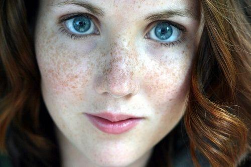 Hair Color For Pale Skin Blue Eyes Freckles G I R L Y In