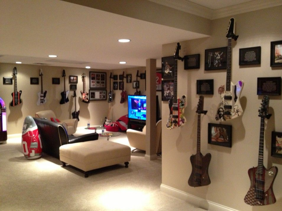 Modern Ligting In Cool Gaming Rooms Interior Design Ideas  ~ 062912_Dorm Room Design Games