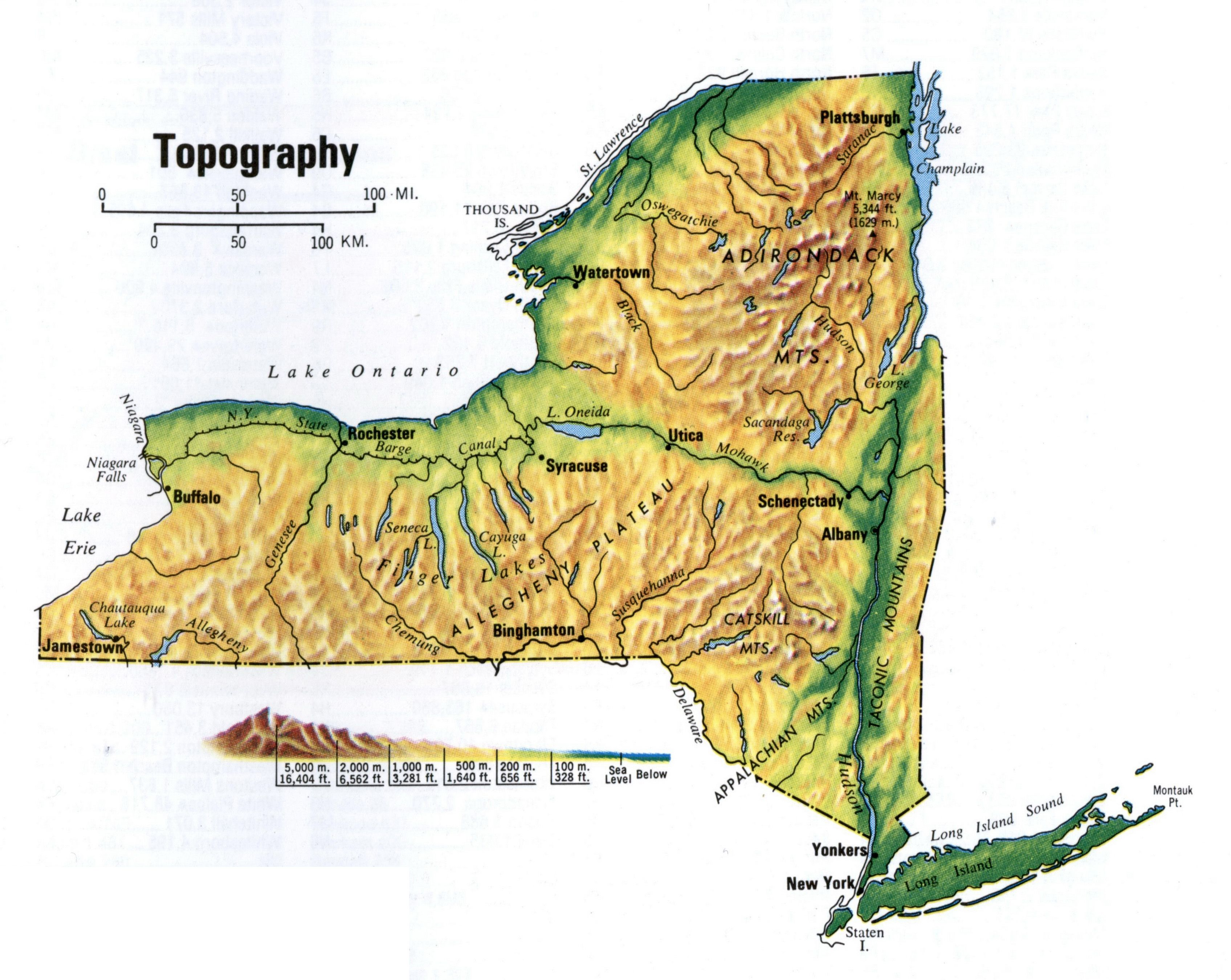 Topographic Map Of New England.Image Result For Topographical Map Of New York State New England
