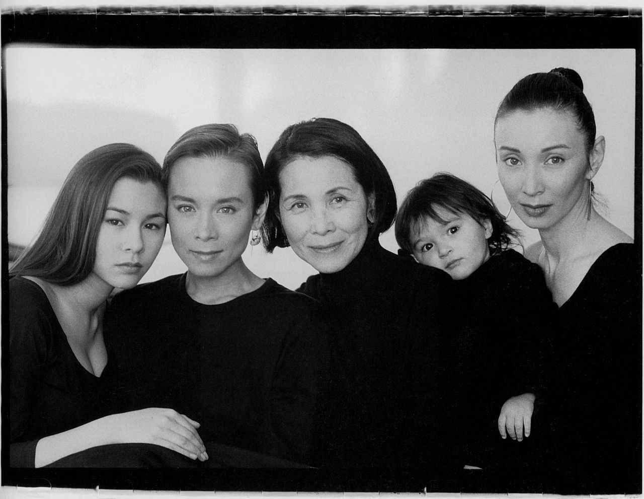China Chow Tina Chow Mona Miyako Lutz Malu Byrne And Adele Lutz