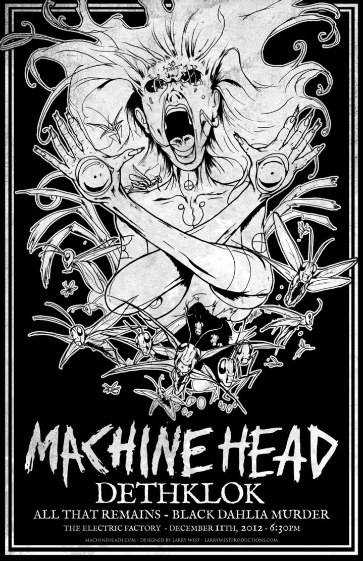 Machine Head, Dethlok, All That Remains, Black Dahlia Murder