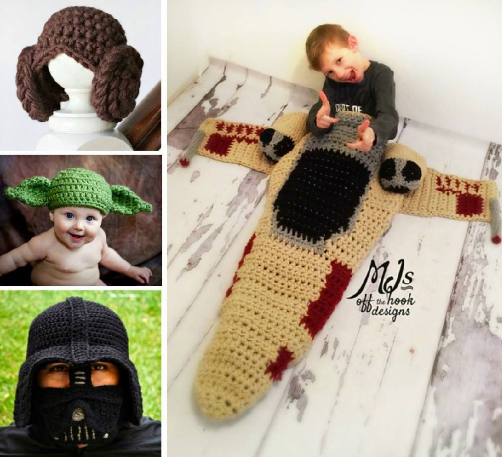 Star Wars Crochet Patterns Free Tutorial Ideas | Mantas sirena ...