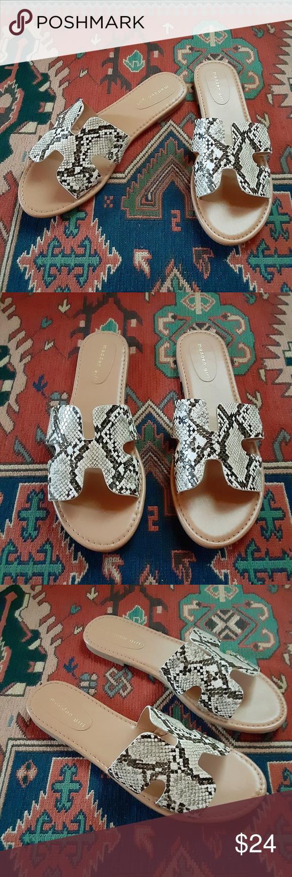 MADDEN GIRL Snakeskin Sandals | Madden