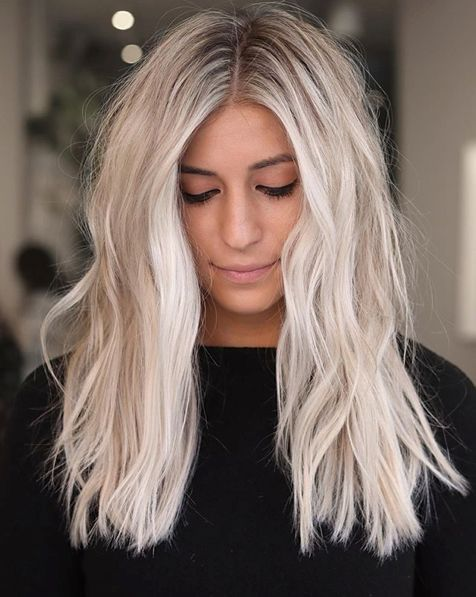 Ice Blonde Hair Colors for Winter 2020 That'll Hav