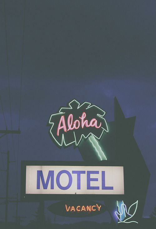Palm Tree Sign Aloha Neon Signs Vintage Neon Signs Retro Signage