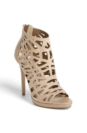 9cb708313 Sam Edelman  Ellie  Cage Peep Toe Bootie available at  Nordstrom ...