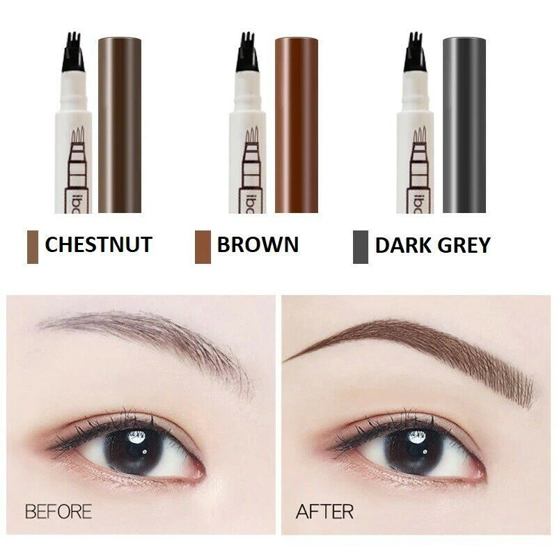 Details About Microblading Tattoo Liquid Eyebrow Pen Liner