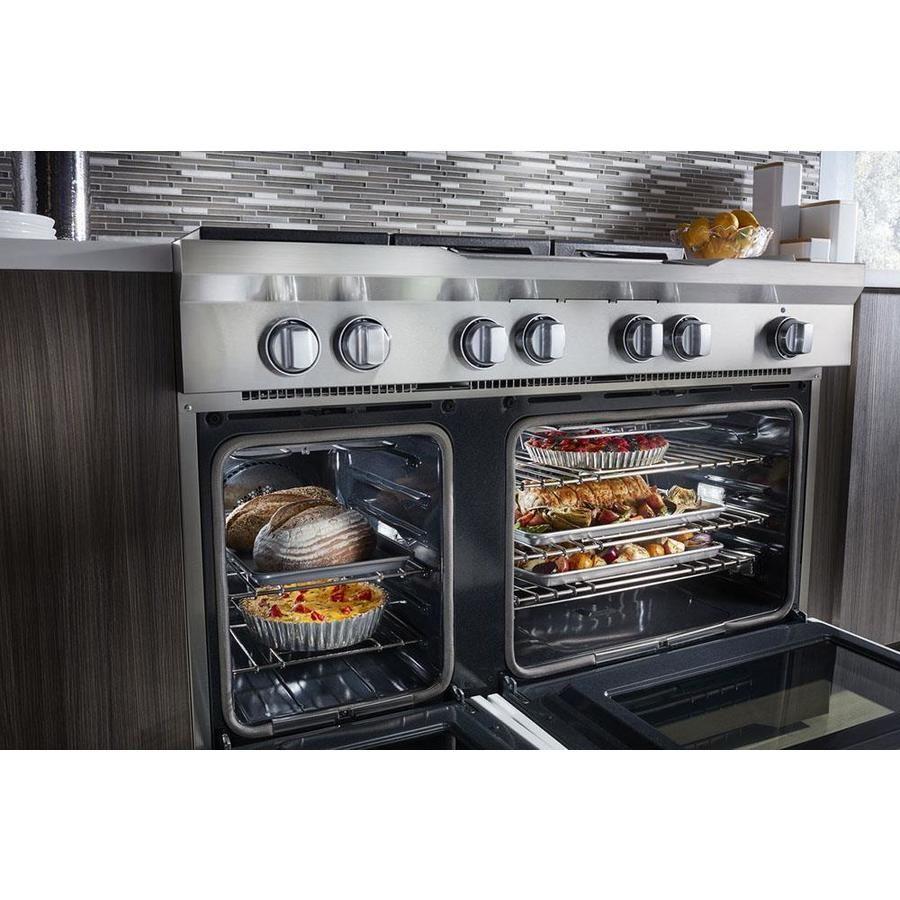 Kitchenaid 48in 7burner 41cu ft22cu ft self