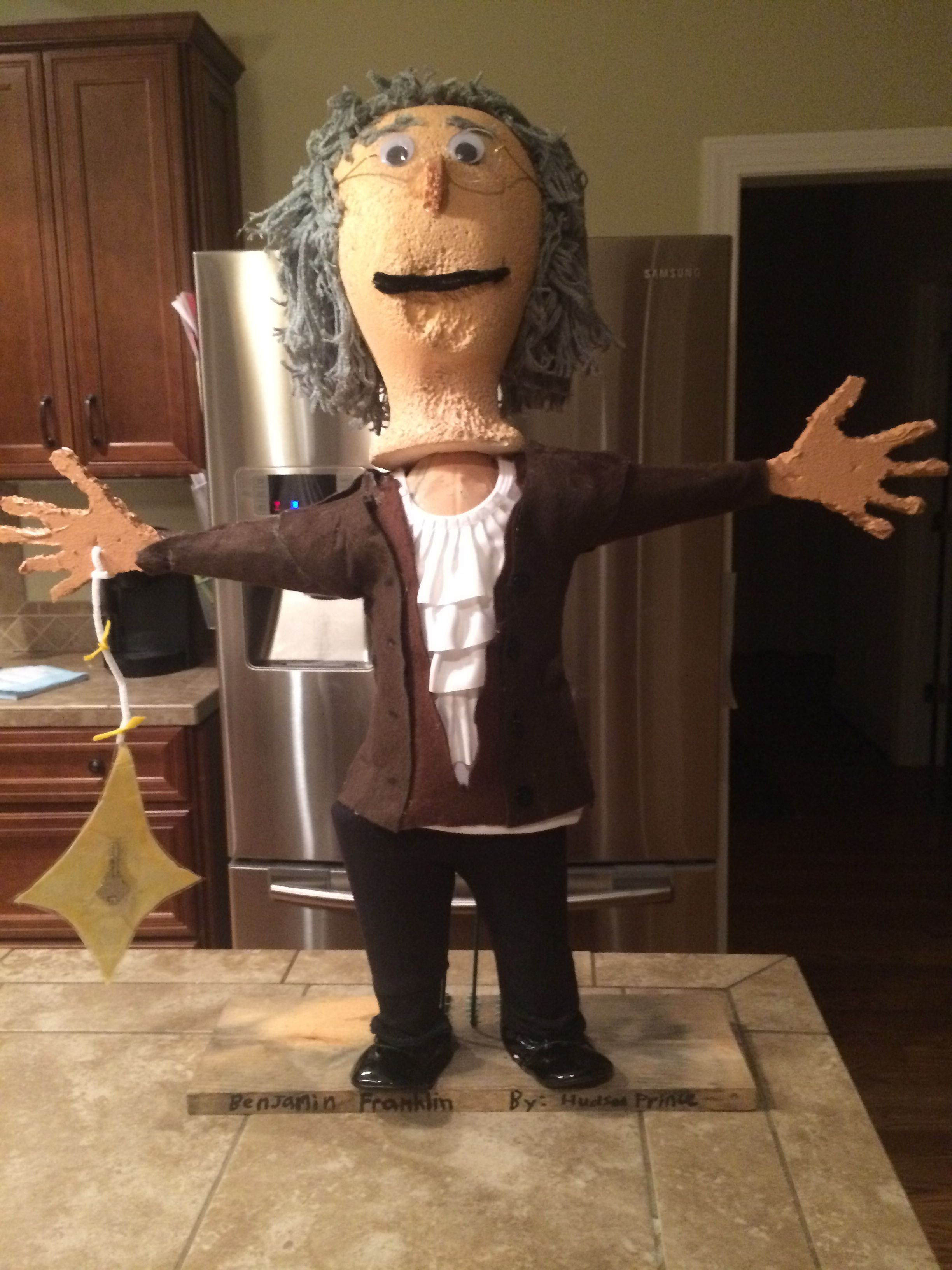 Benjamin Franklin Kid S Biography Bottle Project