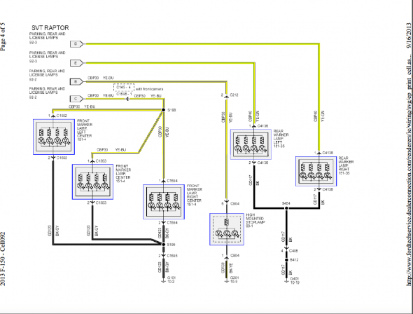 Wiring Diagram For Ford F Trailer Lights From Truck on