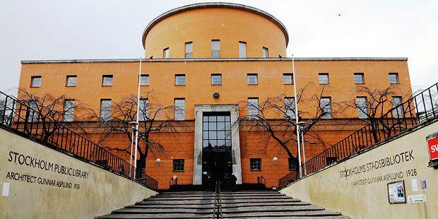 Stockholm Public Library, exterior