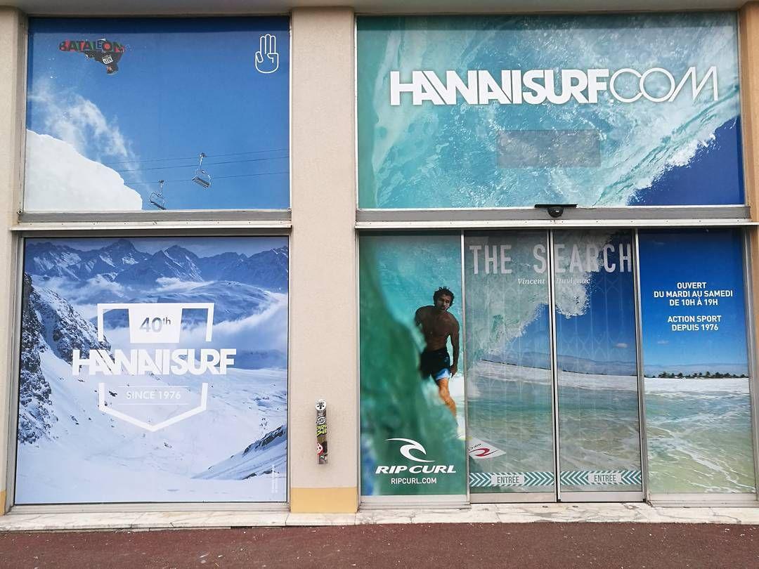 Nouvelle vitrine bataleonsnowboards chez Hawaiisurf