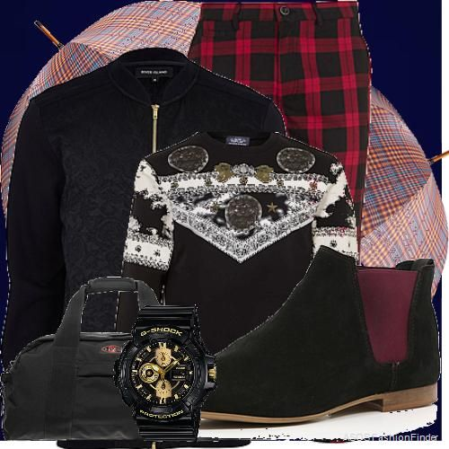 Baroque and Tartan   Men's Outfit   ASOS Fashion Finder