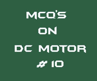 Electrical Engineering Multiple Choice Questions On Dc Motor 10 Electrical Engineering This Or That Questions Choice Questions