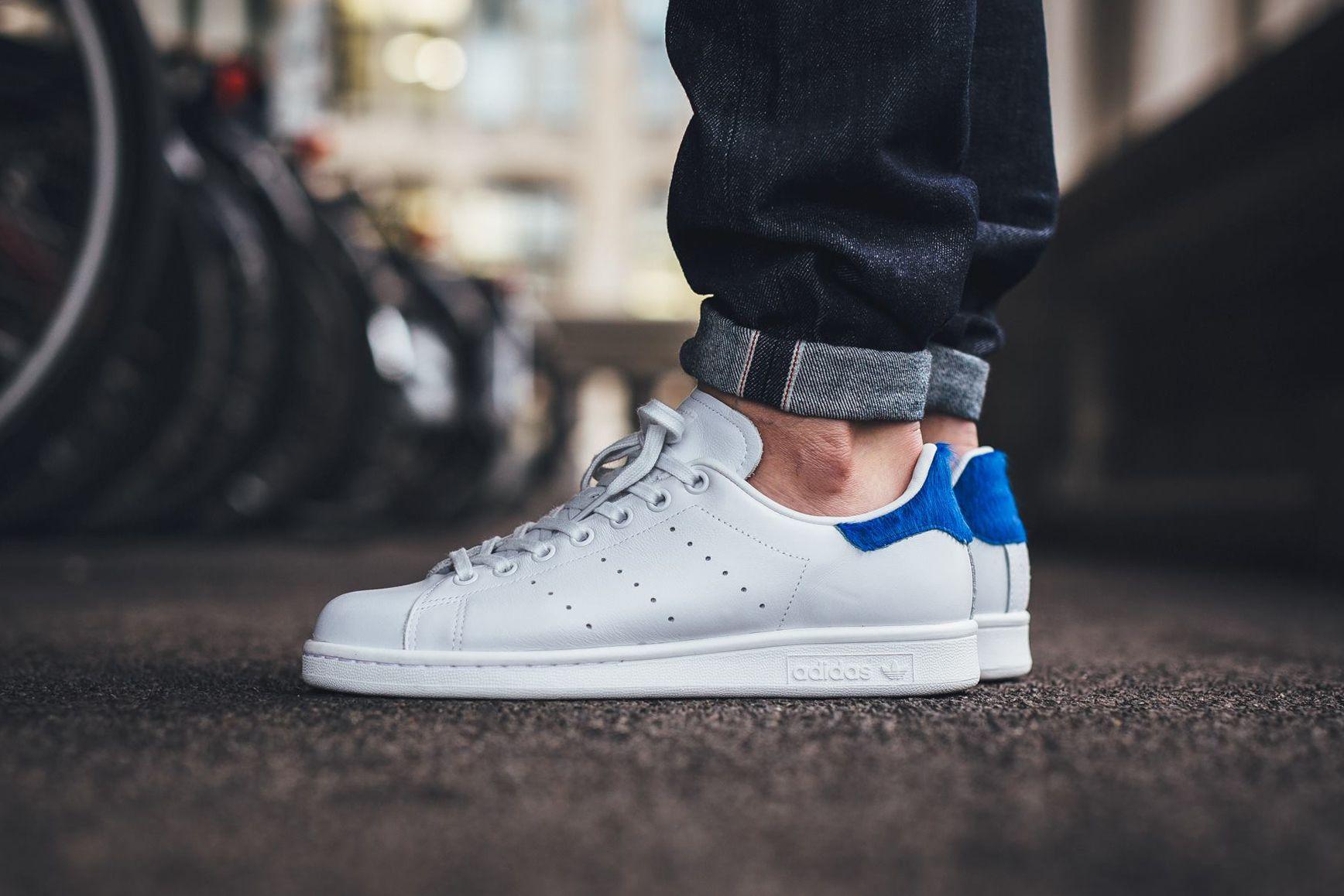 adidas stan smith blue