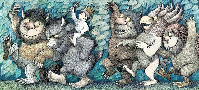 Max et les Maximonstres Maurice Sendak, Where the Wild Things Are, Harper Collins Publishers, New York, 1963 Nel paese dei mostri selvaggi, Babalibri, Milan 1999