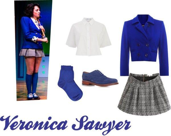 Heathers The Musical Veronica Sawyer Cosplay costume
