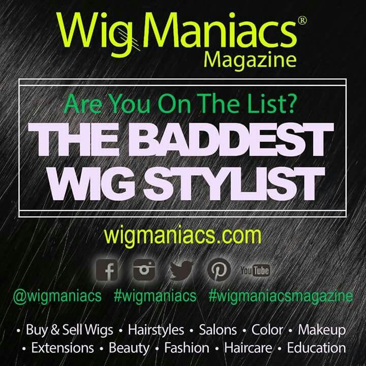 * Wig Hairstylist Magazine Feature *