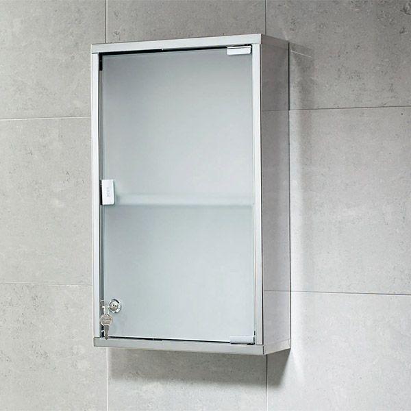 Gedy Lockable Medicine Cabinet – 500 x 300mm