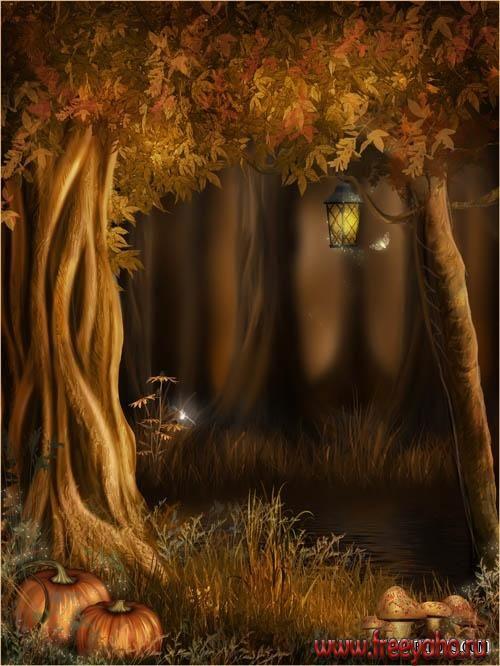 Autumn Fairy Backgrounds | ... фоны от Jaguarwoman | Fairy ...