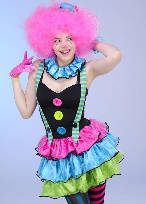 teen-clown-girl-costume-999460_01.jpg (500×700)  sc 1 st  Pinterest & teen-clown-girl-costume-999460_01.jpg (500×700) | Costume | Pinterest