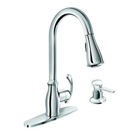 Moen Kipton Chrome 1 Handle Deck Mount