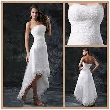 Vestidos de novia playa cortos