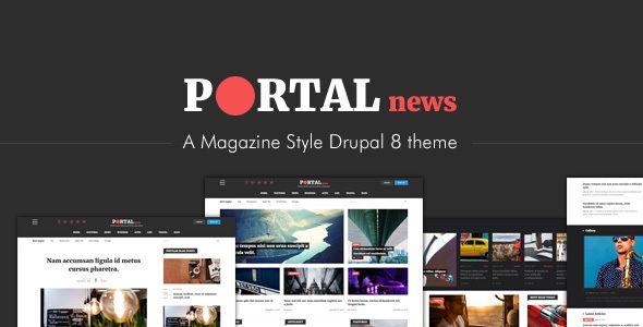 drupal portal theme
