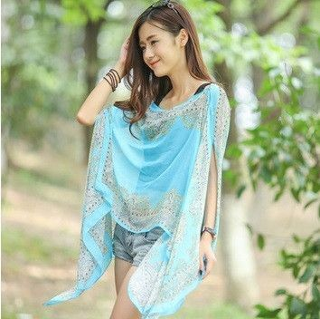 3423233108ffa Boho Chic Butterfly Summer Women Floral Bikini Cover Up Sexy Swimwear Beach  Cover Up Bikini Dress