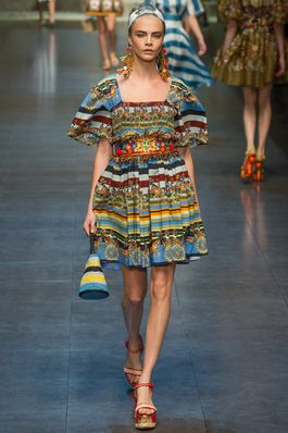 Dolce & Gabbana Spring 2013 Ready-to-Wear Fashion Show: Complete Collection - Style.com