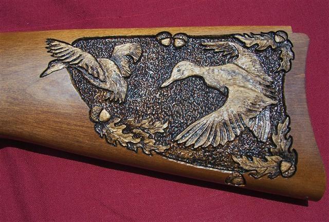 Gunstock Carving Wood Carving Carving Wood Carving Designs
