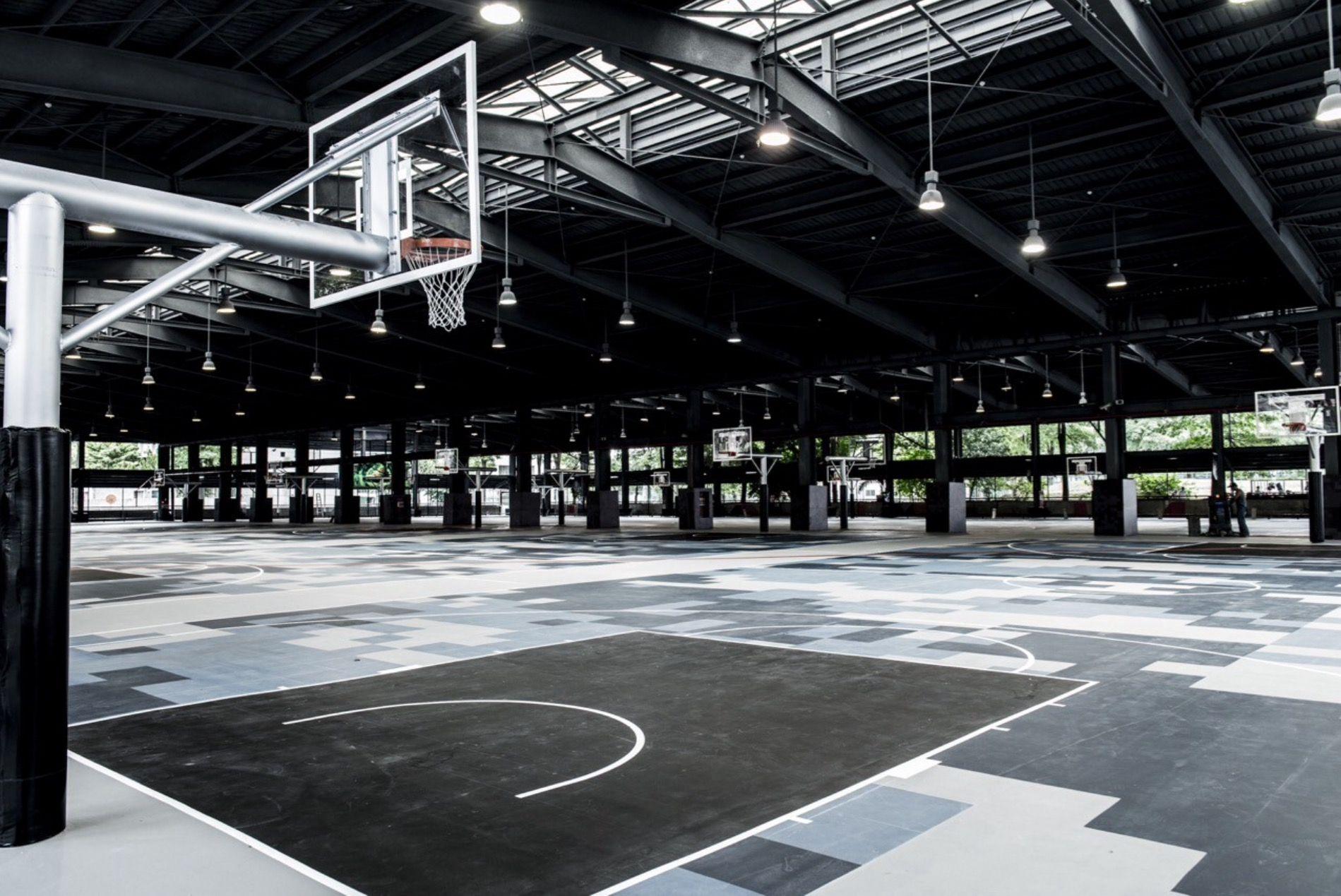 Pin By Sorella Paper Design On Basketball Courts Home Basketball Court Indoor Basketball Court Indoor Basketball