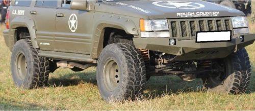 Jeep Grand Cherokee Zj 93 98 Acero Delantero Parachoques