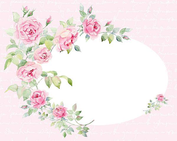 Watercolor English Rose Pattren On Behance Floral Art Mixed Media Art Journaling English Roses