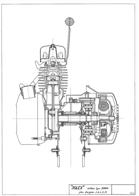 genesis motor schema moteur electrique velo